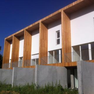 Réalisation construire bois Logements collectifs, Ile de France Bardage Mélèze - Ile de France