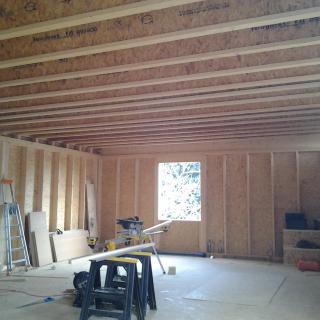 Réalisation construire bois Plancher poutre I  - Beauvais