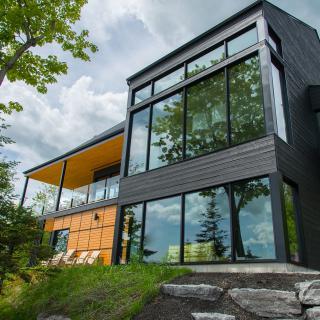 Réalisation construire bois Maison d'architecte lumineuse - Cholet