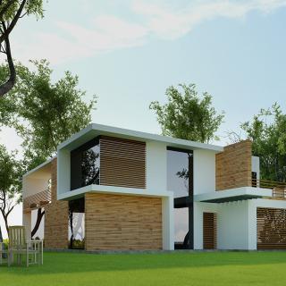Réalisation construire bois Pavillon individuel - Yvelines