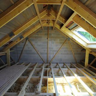 Réalisation construire bois Comble -